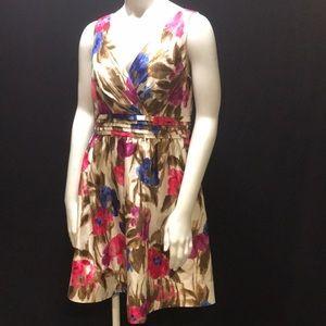 *Host Pick 🎉 Jessica Howard floral dress